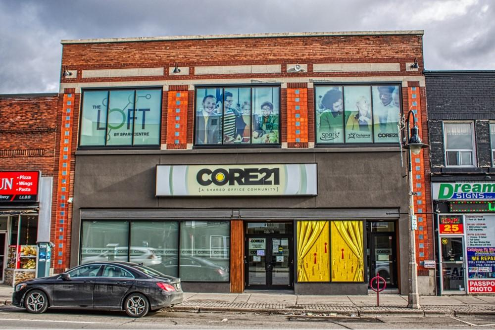 Core 21 Facade
