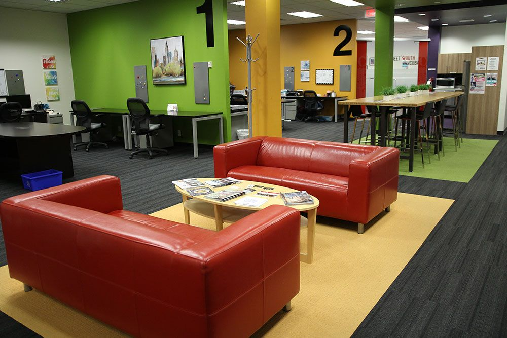 CORE21 lounge space