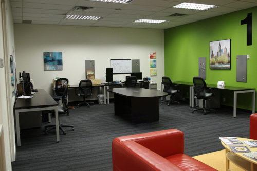 CORE21 Dedicated desks